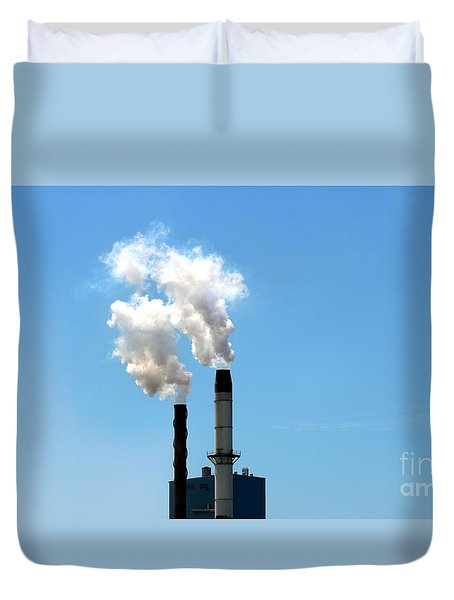 Duvet Cover featuring the photograph Quit by Stephen Mitchell