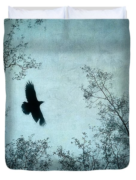 Spread Your Wings Duvet Cover by Priska Wettstein
