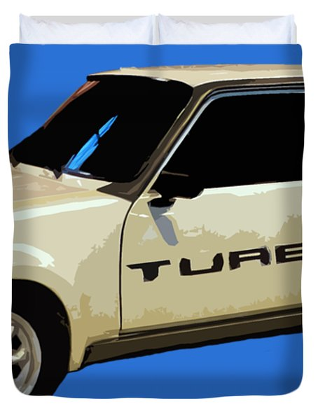 R Turbo Art Duvet Cover