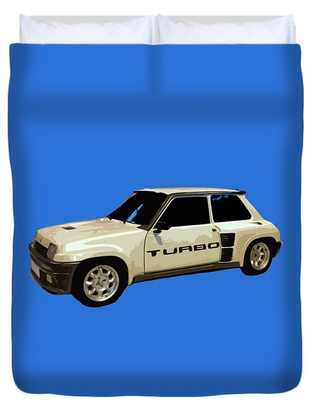 R Turbo Art Duvet Cover