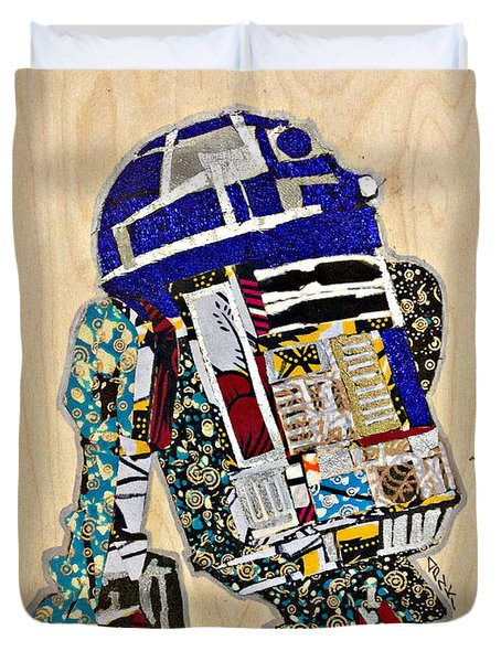 R2-d2 Star Wars Afrofuturist Collection Duvet Cover