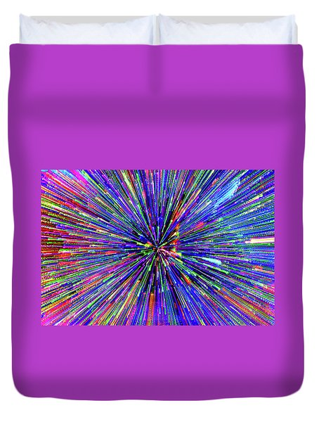 Duvet Cover featuring the photograph Rabbit Hole by Tony Beck