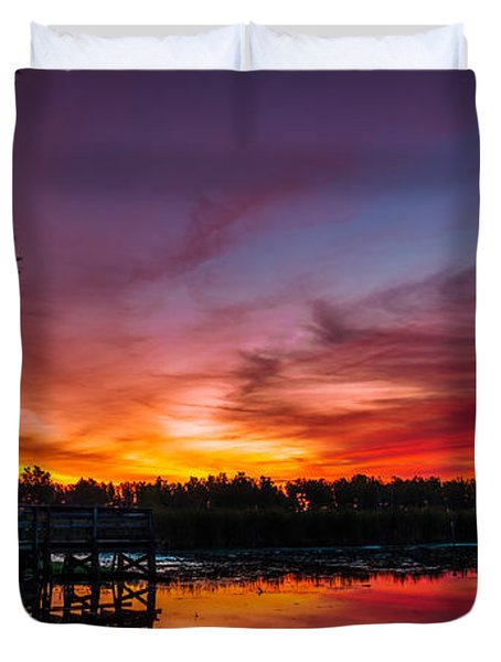 Rabbit Run Aurora Duvet Cover