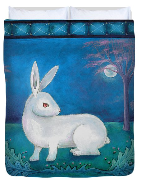 Rabbit Secrets Duvet Cover