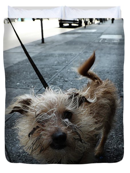 Rabid Dog Duvet Cover