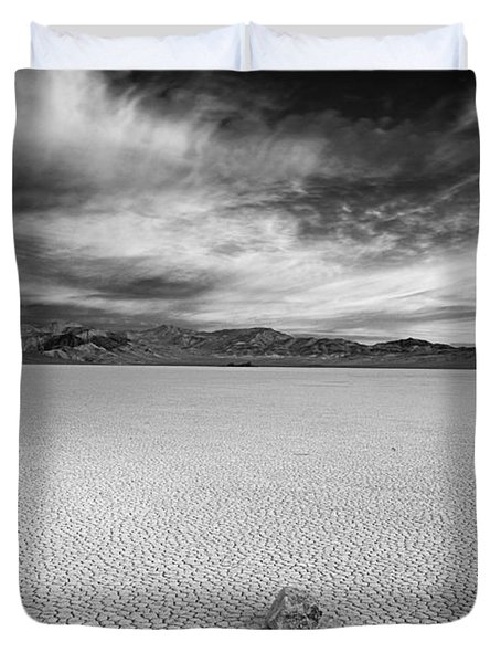 Race Track Valley Duvet Cover