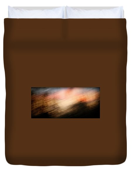 Duvet Cover featuring the photograph Race You To The Top by Marilyn Hunt