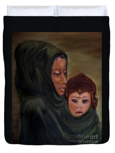 Rachel And Joseph Duvet Cover by Annemeet Hasidi- van der Leij