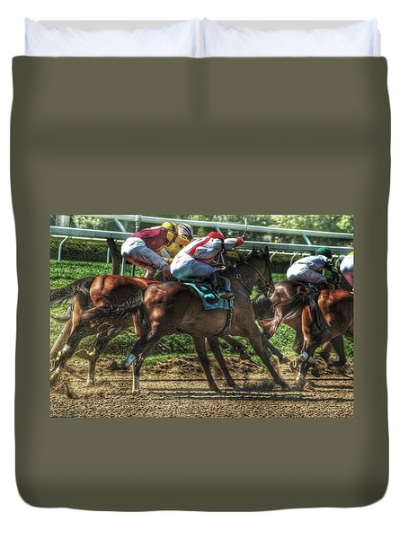 Racing Duvet Cover