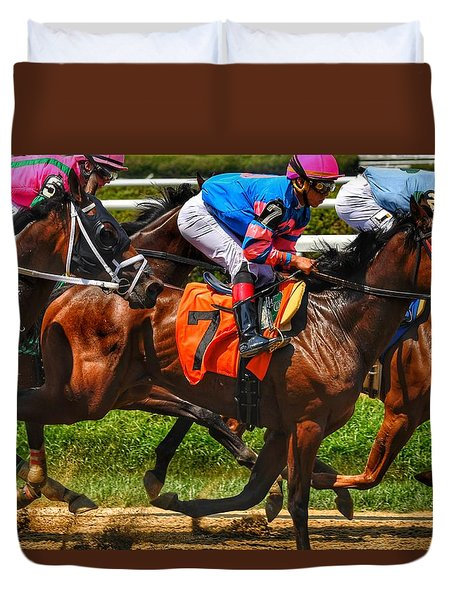Racing Tight Duvet Cover