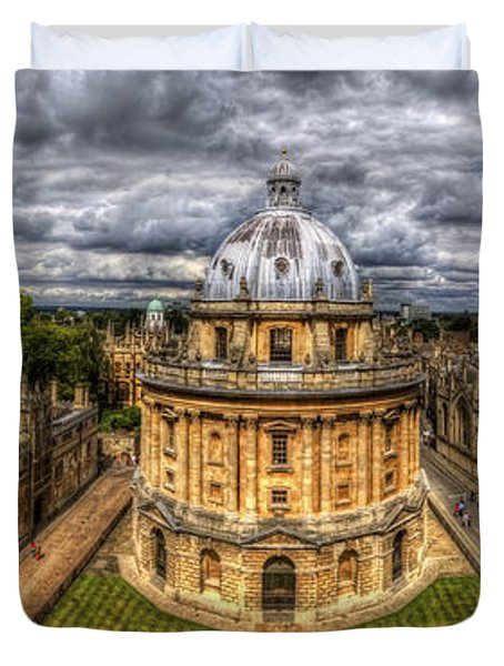 Radcliffe Camera Panorama Duvet Cover