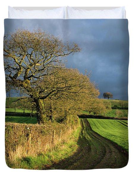 Raddon Top In Mid Devon Duvet Cover