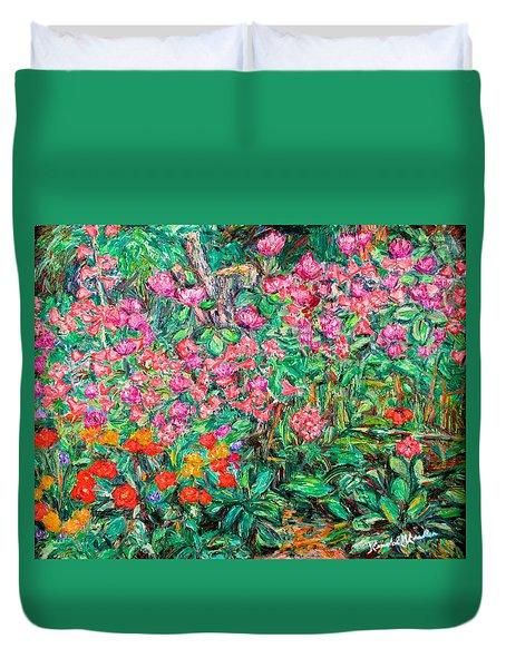 Radford Flower Garden Duvet Cover