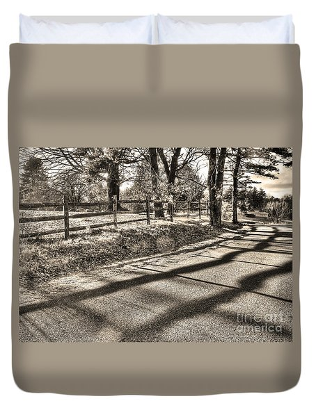 Duvet Cover featuring the photograph Radiance by Betsy Zimmerli