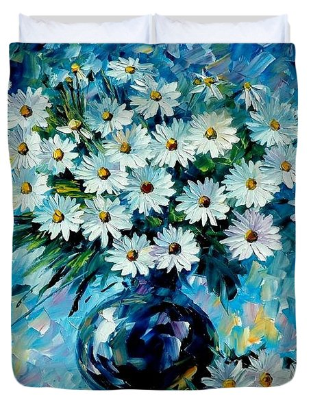 Radiance Duvet Cover by Leonid Afremov