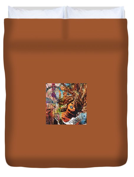 Radiant Duvet Cover by Angela Holmes