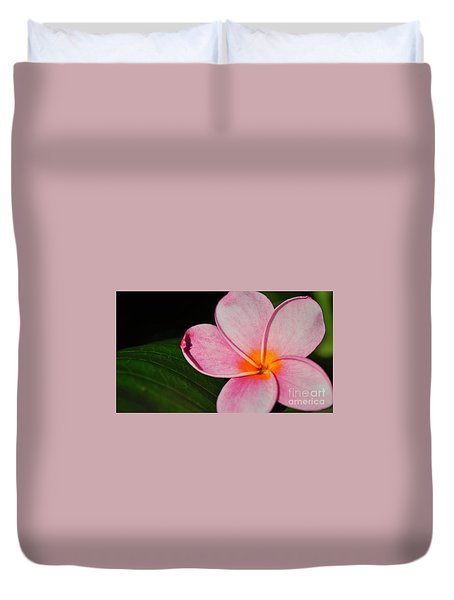Radiant Bloom Duvet Cover