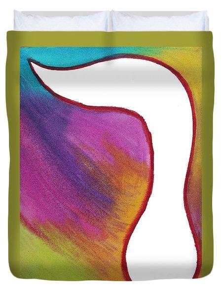 Radiant Resh Duvet Cover