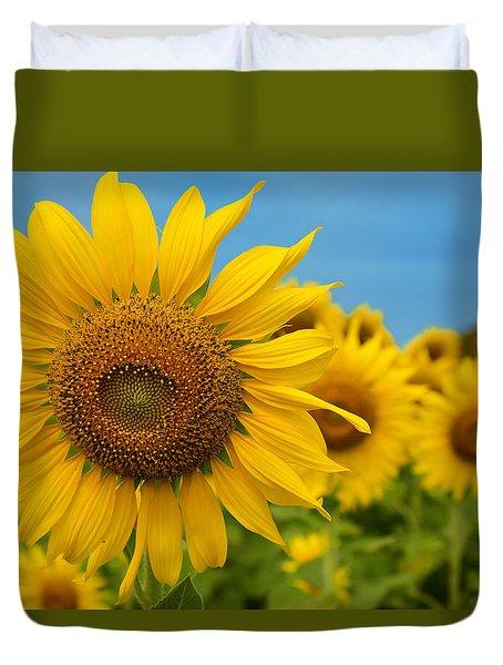Radiant Sunflower Duvet Cover