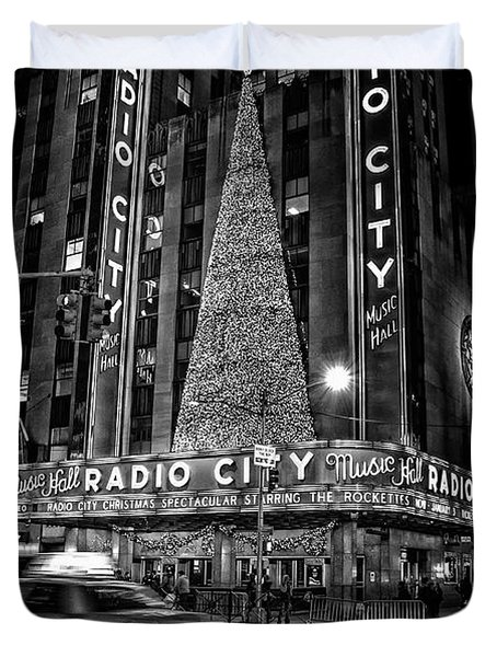 Radio City Duvet Cover