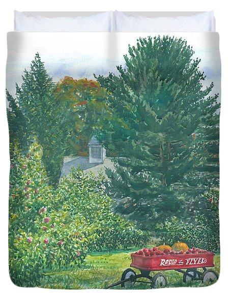 Radio Flyer Shelburne Farm Duvet Cover