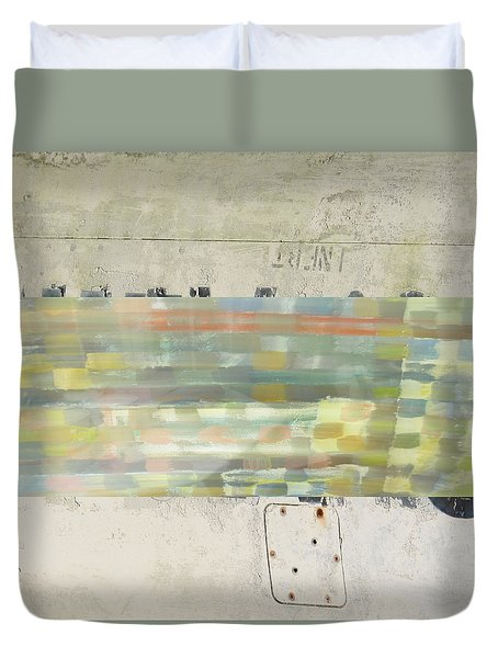Radio Silence Duvet Cover by Paul Moss