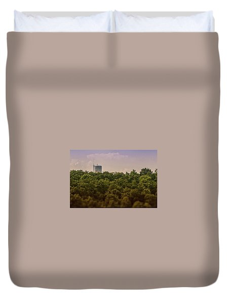 Radioactive Landscape Duvet Cover
