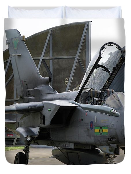 Raf Panavia Tornado Gr4 Duvet Cover by Tim Beach