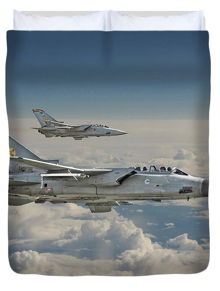 Raf Tornado Duvet Cover by Pat Speirs