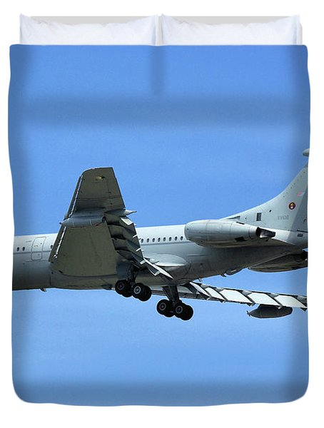 Raf Vickers Vc10 C1k Duvet Cover by Tim Beach