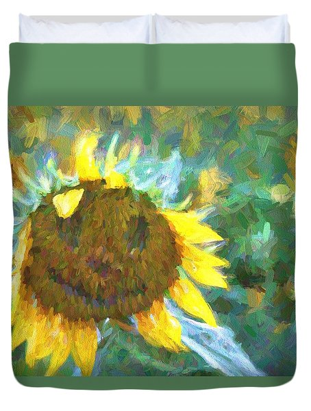 Rag A Muffin Painting Duvet Cover