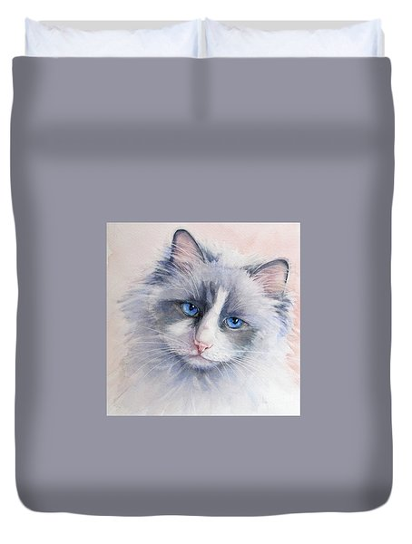 Ragdoll Cat Duvet Cover
