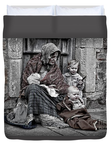 Ragged Victorians 2 Duvet Cover