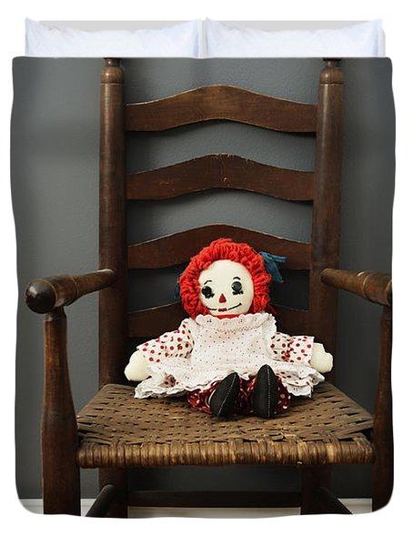 Raggedy Ann Doll Duvet Cover