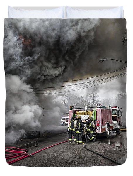 Raging Inferno Duvet Cover