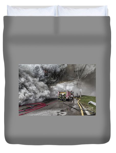Raging Inferno Duvet Cover