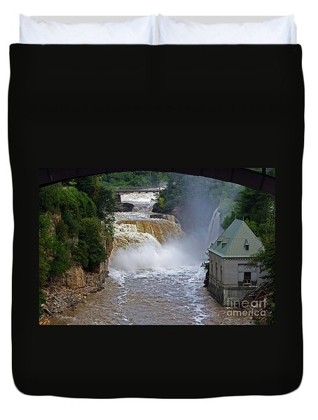 Raging River Duvet Cover