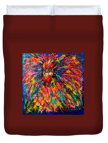 Raging Rooster Duvet Cover