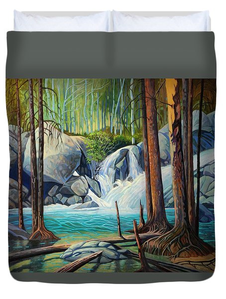 Raging Solitude Duvet Cover by Art West