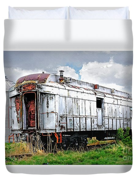 Rail Car Duvet Cover
