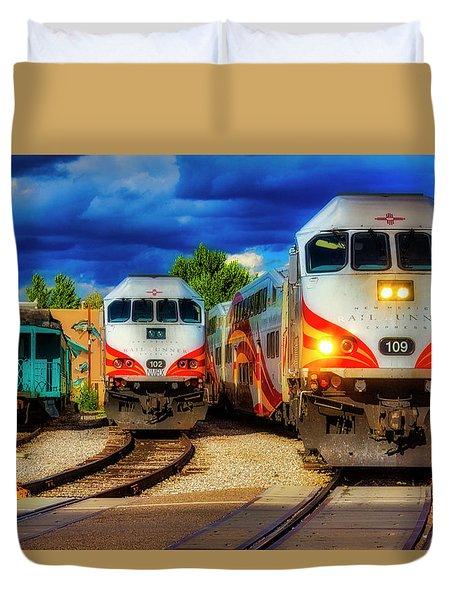 Rail Runner Express Duvet Cover