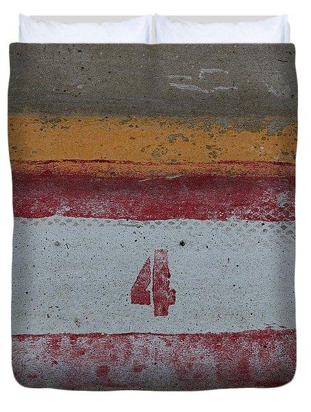 Railroad Art Duvet Cover