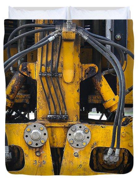 Railroad Equipment Duvet Cover