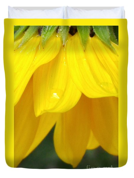 Rain And Sunshine On A Colorado Wildflower Duvet Cover