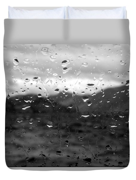 Rain And Wind Duvet Cover