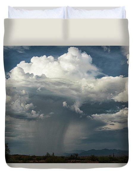 Duvet Cover featuring the photograph Rain, Beautiful Rain  by Saija Lehtonen