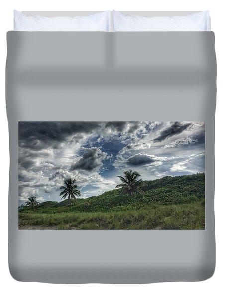 Rain Clouds Duvet Cover