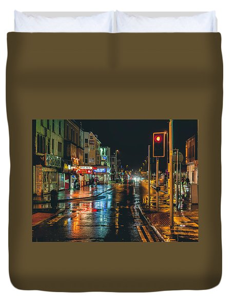 Rain Dogs Duvet Cover