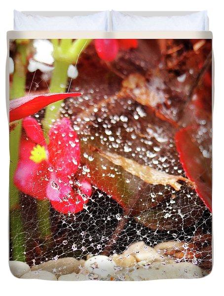 Rain Drops Duvet Cover
