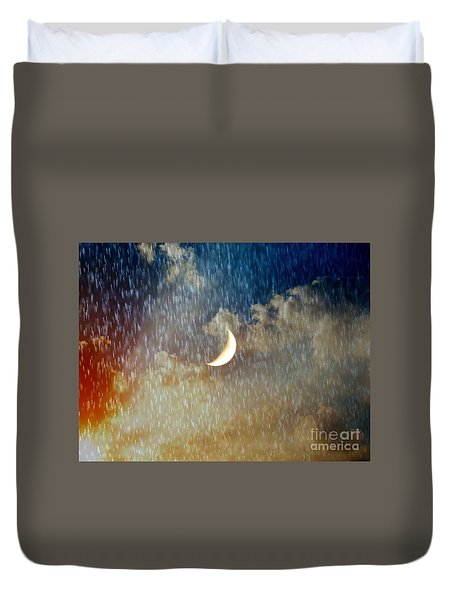 Rain Fall Duvet Cover